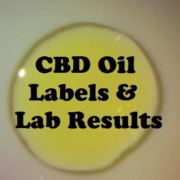 CBD Oil Labels